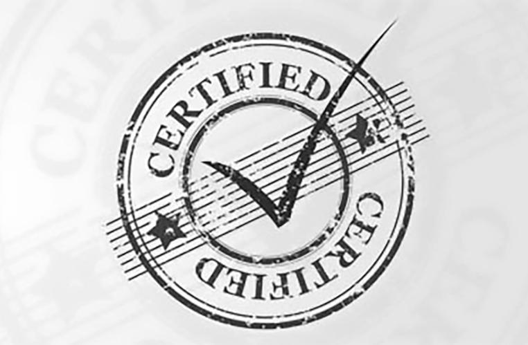 Sertifisering ISO styringsystemer