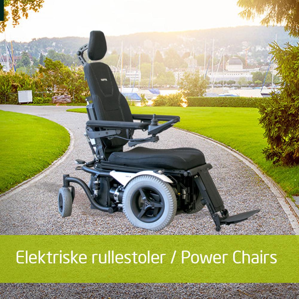 Elektriske rullestoler gir deg frihet og mobilitet utendørs og innendørs.