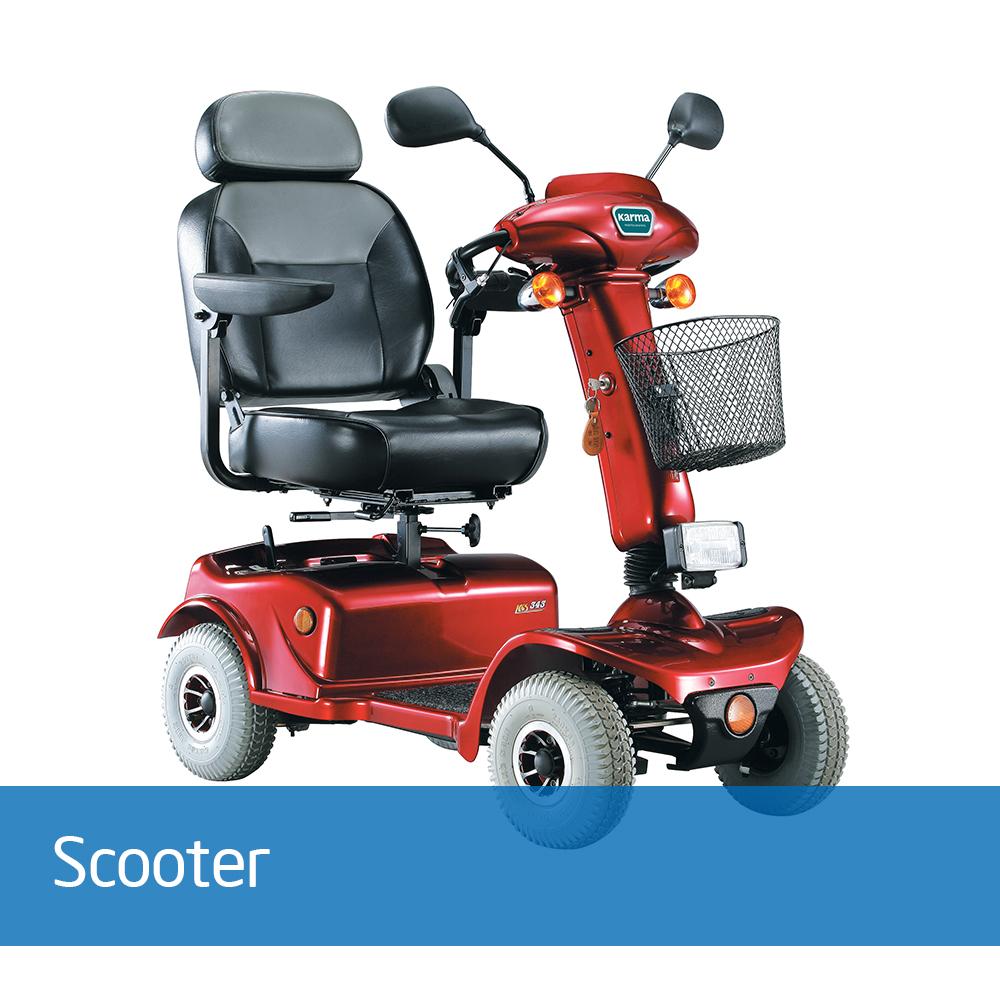 KS-343 er en økonomisk og godt utformet kompakt scooter, med moderne design. KS-741 er godt tilpasset dagens behov med blant annet lukket rattstamme og bakskjermer for bedre beskyttelse for vann og støv.