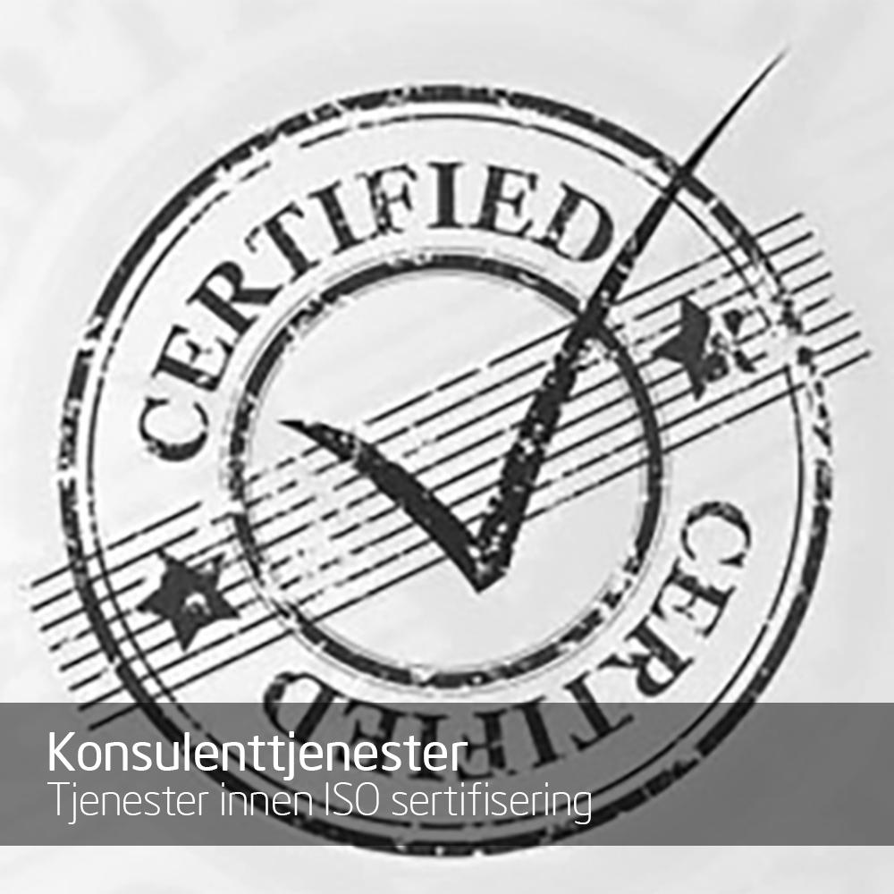 Tjenester innen ISO sertifisering