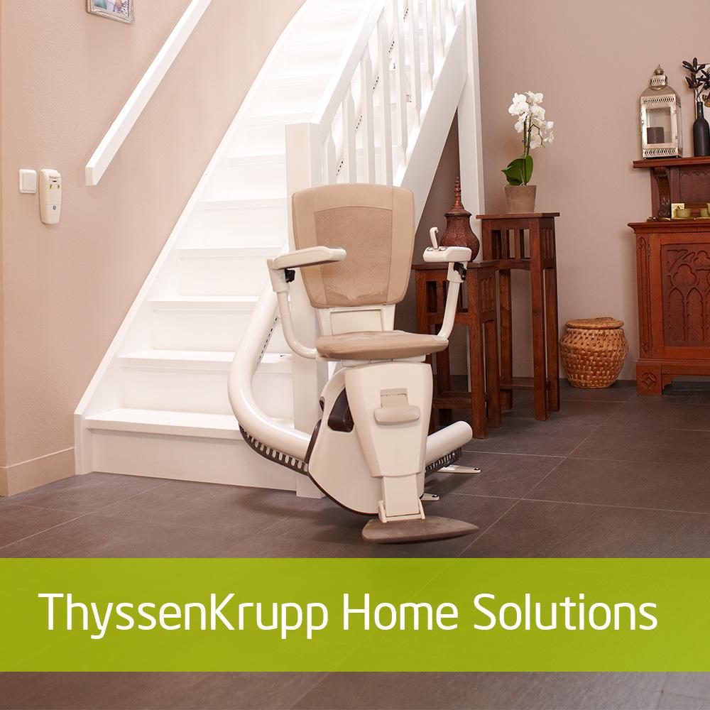 I samarbeid med thyssenkrupp Home Solutions har vi et bredt spekter av løfteinnrettninger.